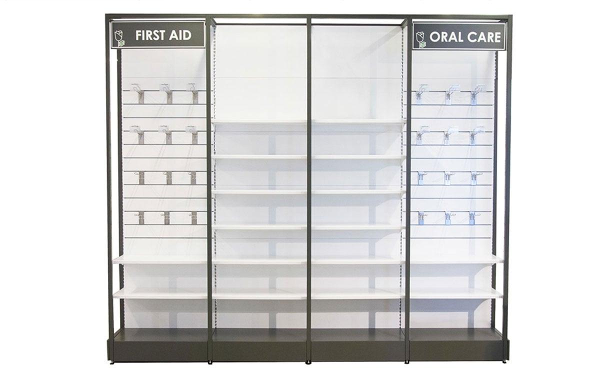 Quadro Pharmacy Shelving