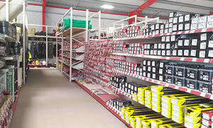 Retail Shelving for DIY shops