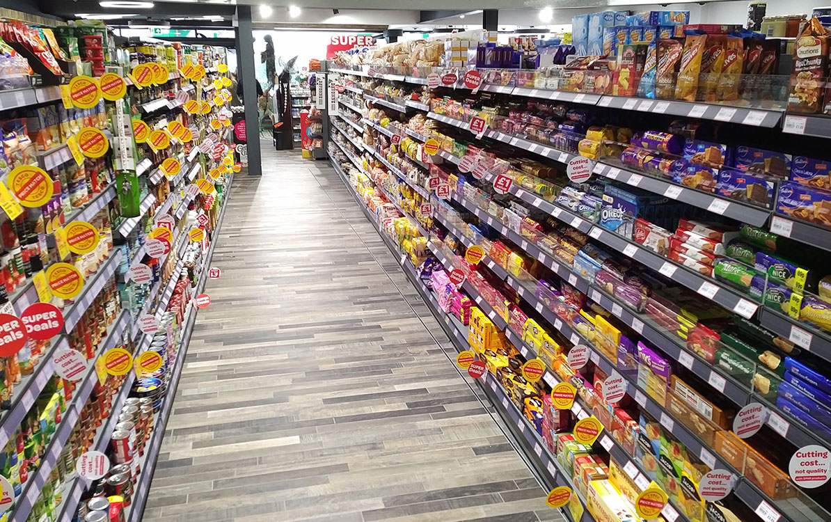 Retail Shelving for Convenience Stores