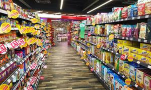 M25 Retail Shelving