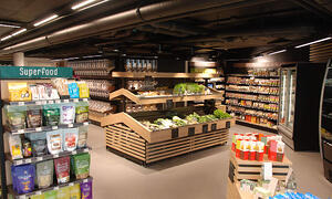 Shelving for Organic Stores
