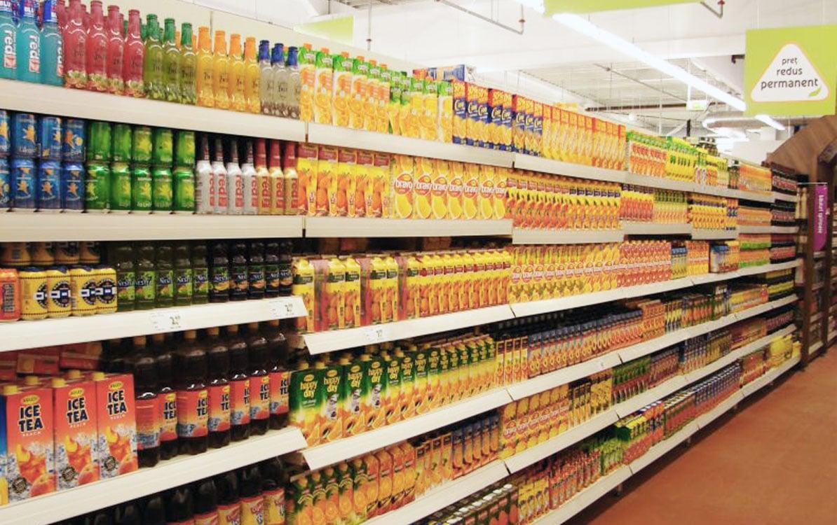 CAEM Supermarket Shelving