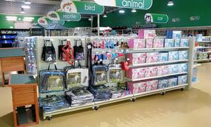 Shelving For Pet Retailers