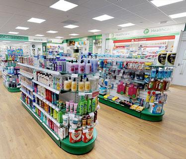 pharmaCAEM Pharmacy shelving